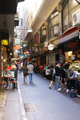 Melbourne Laneways und Arkaden Tour